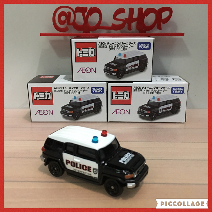 Jual Tomica Aeon Fj Cruiser Police Car Dki Jakarta Jo Shop Tokopedia Mobil Polisi Mobil Produk