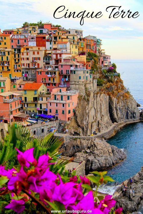 Cinque Terre - Bilderbuchkulisse in Italien #vacationlooks