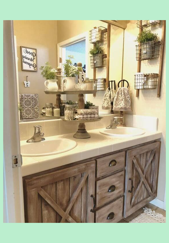 21 Unbelievable Rustic Bathroom Ideas Easily Applicable In 2020 Bathroom Decor Rustic Bathroom Decor Bathroom Makeover
