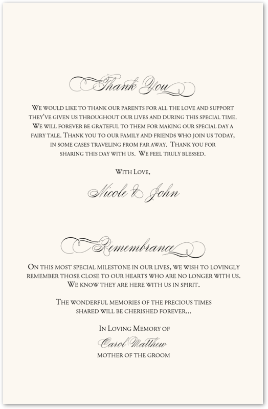 programs for wedding ceremony template.html