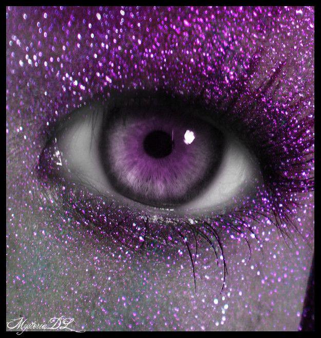 I see purple