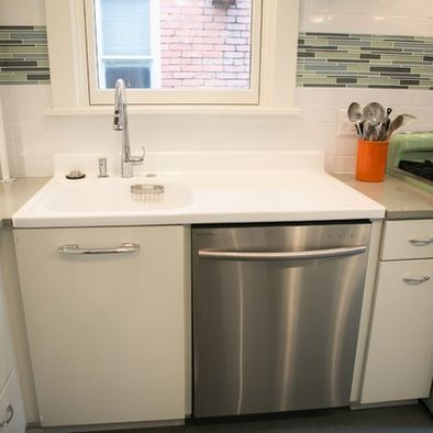 Retro-Style Kitchen Renovation - we repurposed this vintage ...