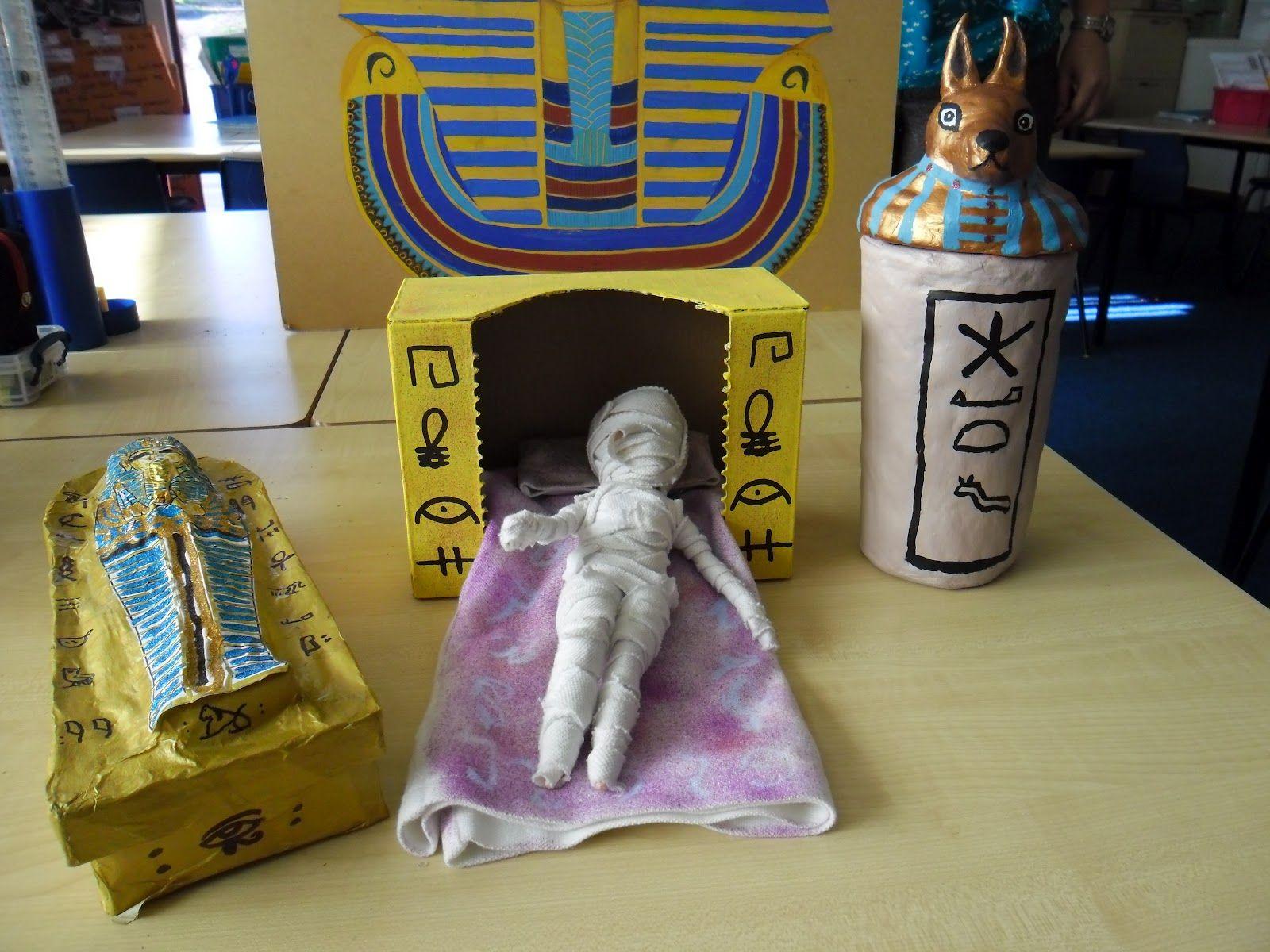First Grade Ancient Egypt Art Project | Art Class Projects ...