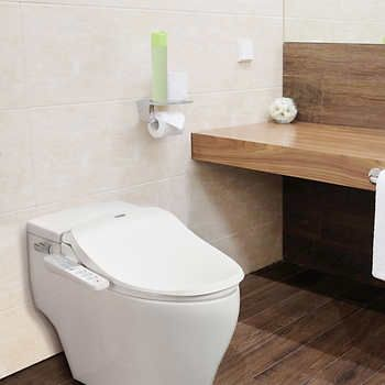 Groovy Bio Bidet Slim One Smart Electric Bidet Toilet Seat Condo Caraccident5 Cool Chair Designs And Ideas Caraccident5Info