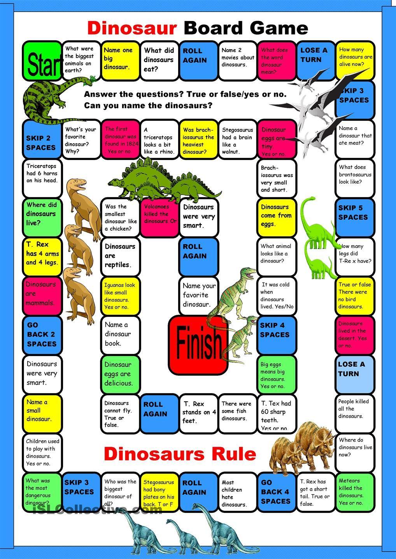 dinosaur boardgame dinosaurs dinosaur worksheets dinosaur games board games. Black Bedroom Furniture Sets. Home Design Ideas