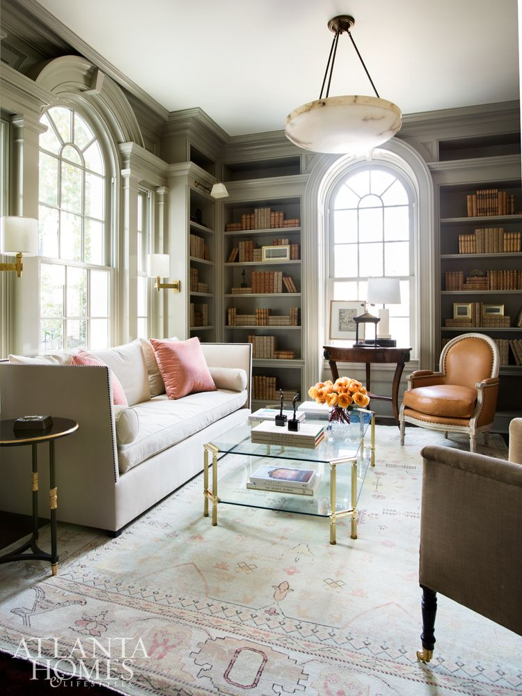 A Jewel Box By Suzanne Kasler The Glam Pad Atlanta Homes Lifestyles