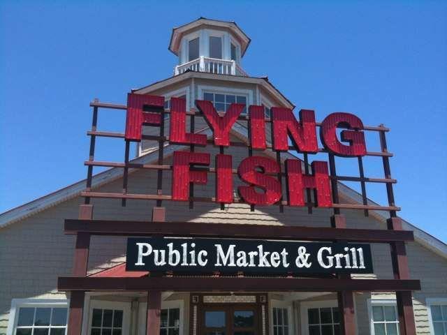 Flying Fish Sign Myrtle Beach Sc Favorite Vacation Myrtle Beach