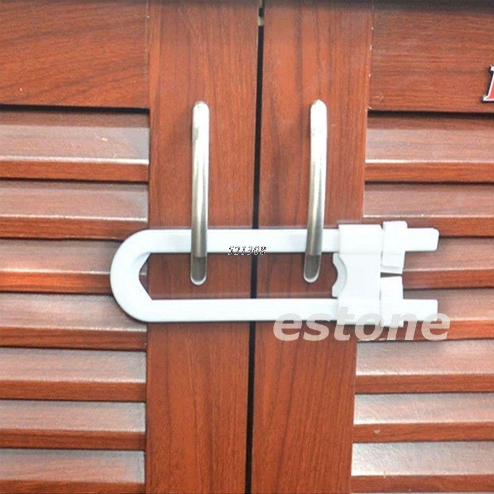 10pcs, Toddler Or Baby Safety Drawer Door Cabinet U Shape Lock