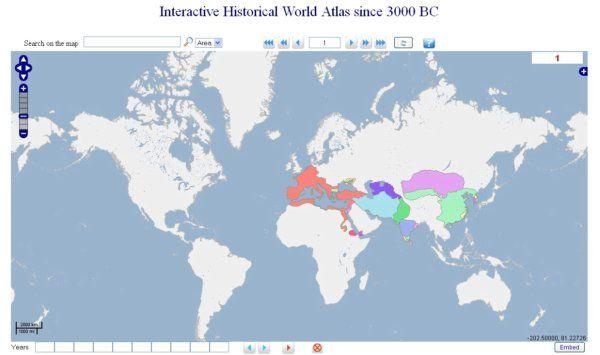 Geacron Atlas Historico Universal Interactivo En Varios Idiomas