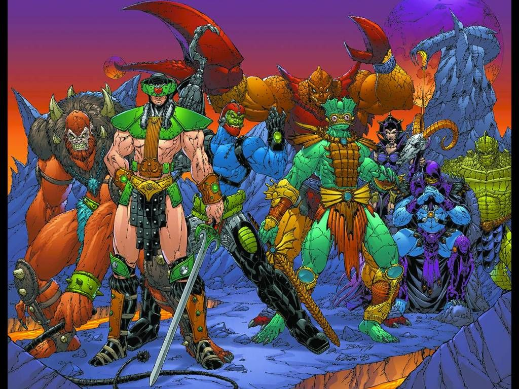 Skeletor and his minions   Masters of the Universe   He man