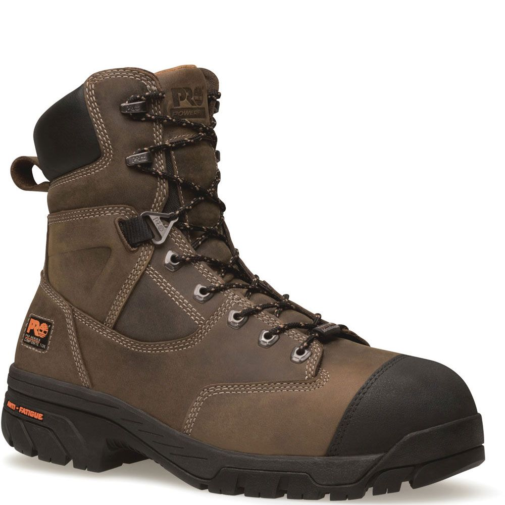 091607214 Timberland PRO Men's Helix Safety Boots - Brown