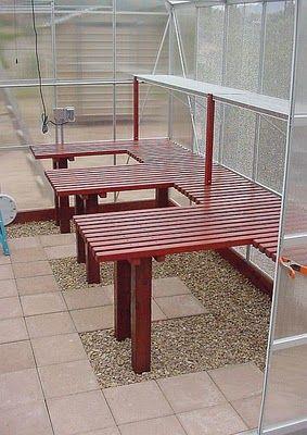Elegant Shelving Idea For Greenhouse I Love The Flooring Idea, Will Head To Habitat  ReStore To