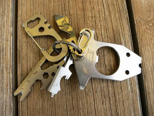 This Is One Prepared Keychain See How These Pocket Multitools Can