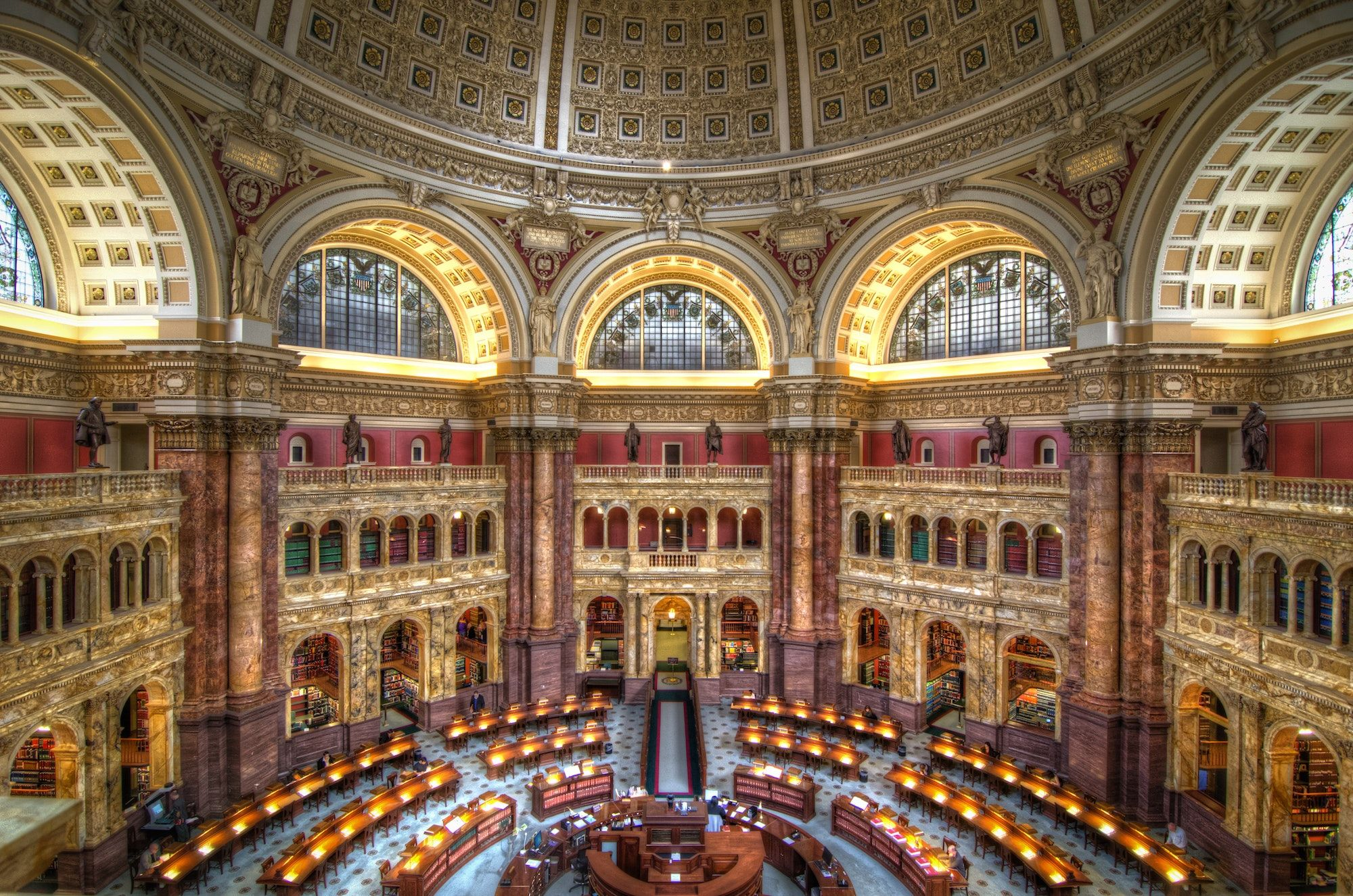 Afar Com Highlight Library Of Congress Library Of Congress Reading Room Tour Guide