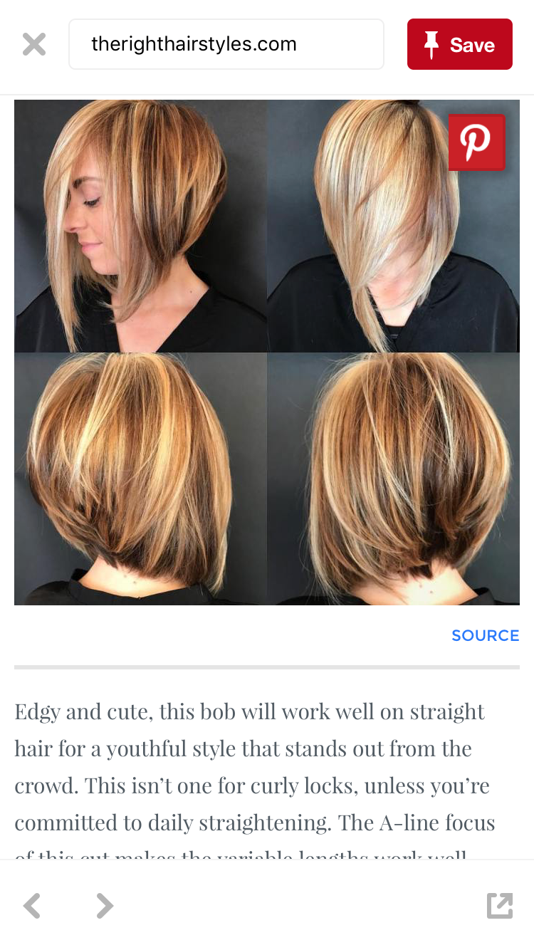 Pin By Cindy Smith On Hair Pinterest Hair Cuts And Bobs