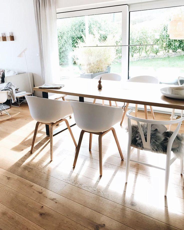 Modernes Esszimmer im skandinavischen Stil Armlehnstuhl