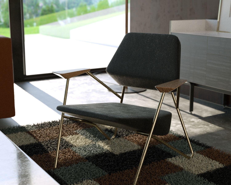 Prostoria Polygon Fauteuil : Sodezign fauteuil de salon polygon design prostoria d