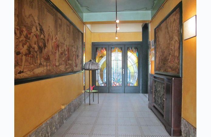 Afbeeldingsresultaat voor art deco hal aanbouw villa paula