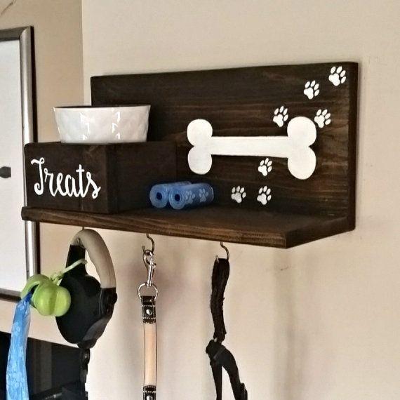 Dog Leash Holder Dog Collar Dog Tag Personalized Dog by ...