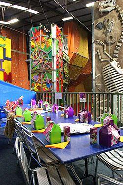 Climbzone Birthday Party Areas Auckland Kids Party Pinterest - Childrens birthday party ideas auckland