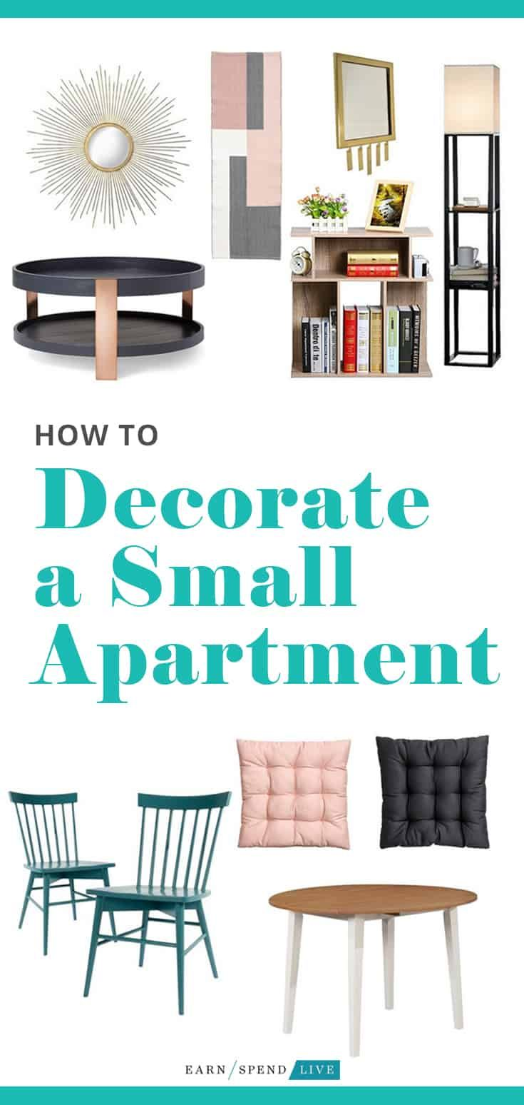 How to Decorate a Small Apartment images