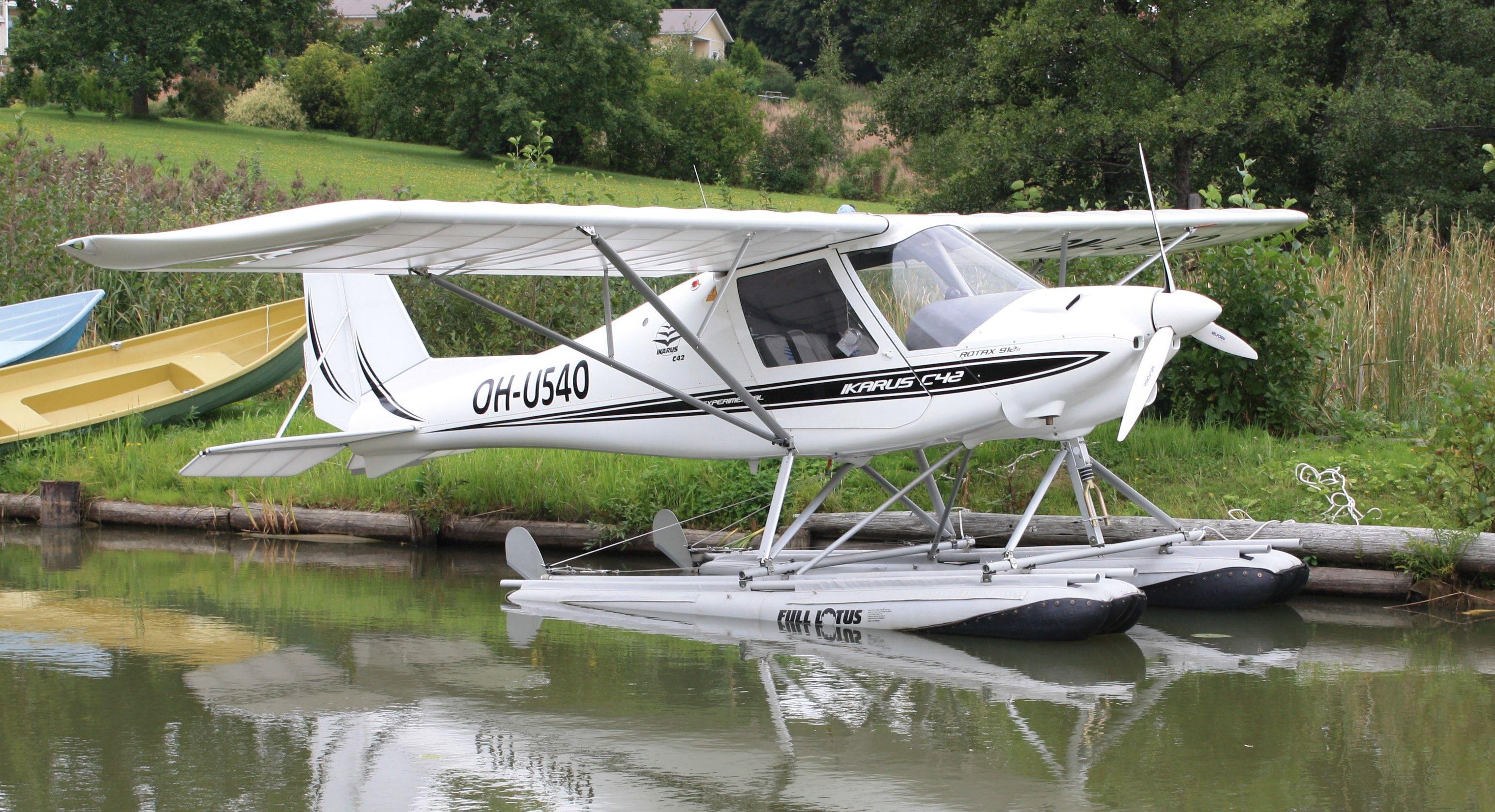Ikarus C42 Ultraleichtflugzeuge Aircraft Und Microlight Aircraft