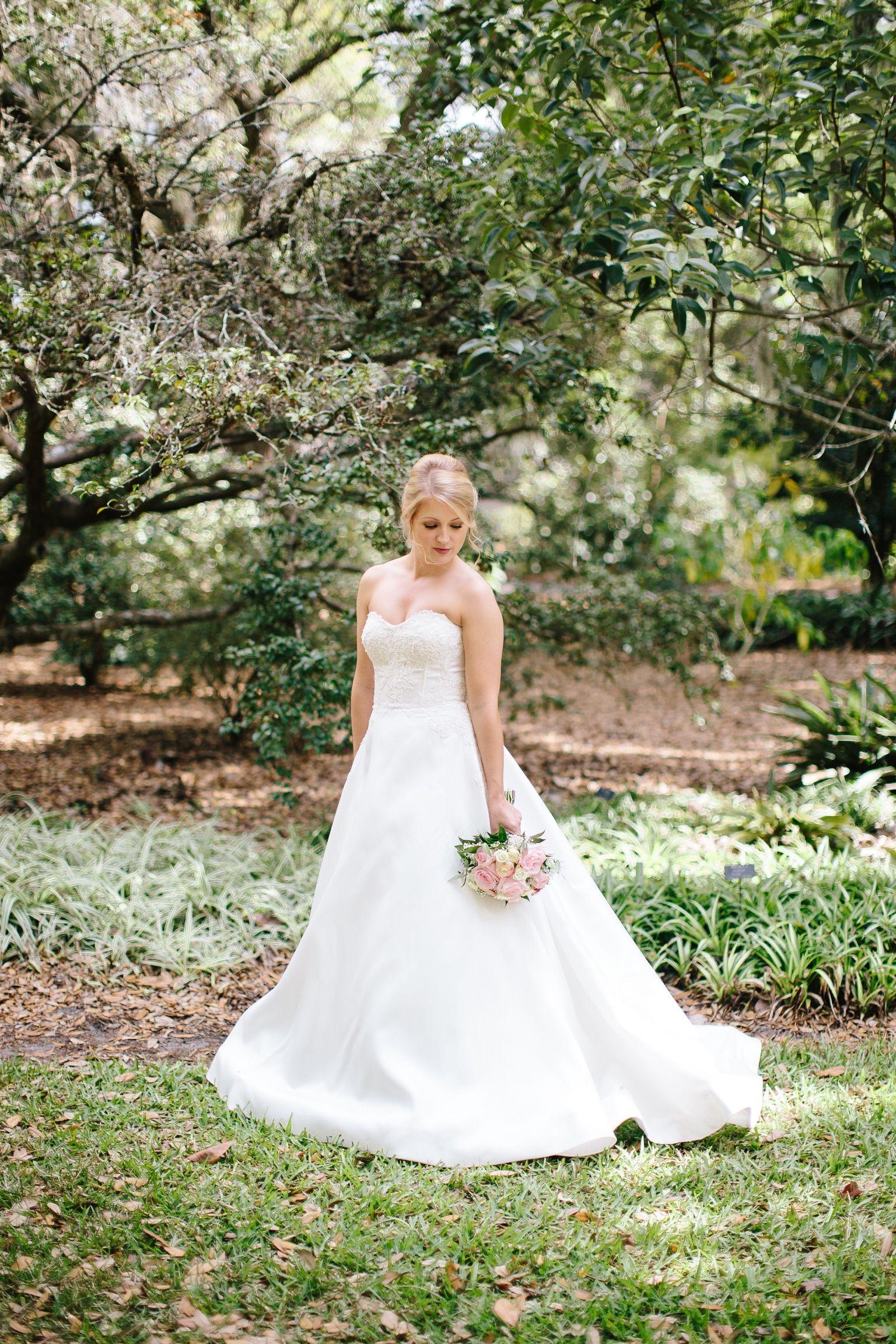 "Beautiful Anne Barge Bride Katie in the ""Lyon"" wedding"