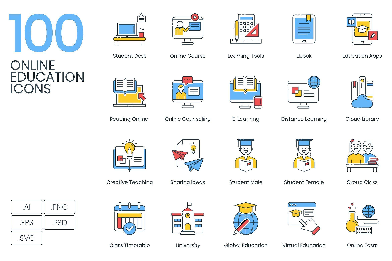 2 500 Icons The Client Bundle Education Icon Online