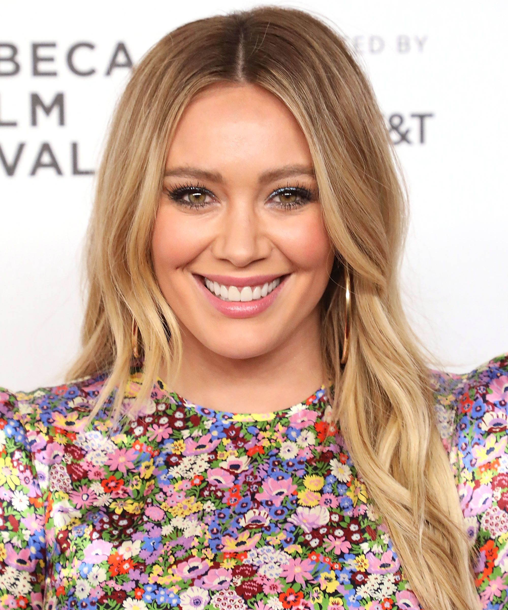 From Pink To Blue To White, Hilary Duff's Hair Evolution