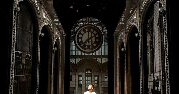 The Eternal Space. O - The Eternal Space. Off-Broadway Theatre Row The Lion. Scenic design by Jason Sherwood. --- #Theaterkompass #Theater #Theatre #Schauspiel #Tanztheater #Ballett #Oper #Musiktheater #Bühnenbau #Bühnenbild #Scénographie #Bühne #Stage #Set