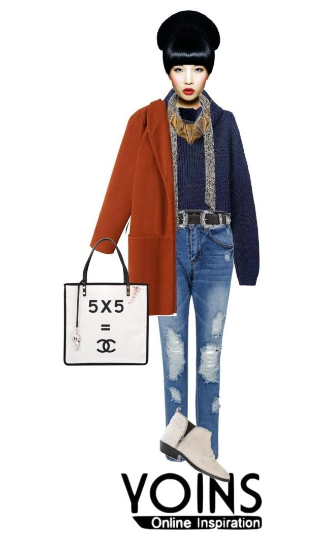 """""""a Fall look"""" by eiwa on Polyvore featuring B-Low the Belt, Isabel Marant, Golden Goose, Chanel, Ruby Rocks and yoinscollection"""