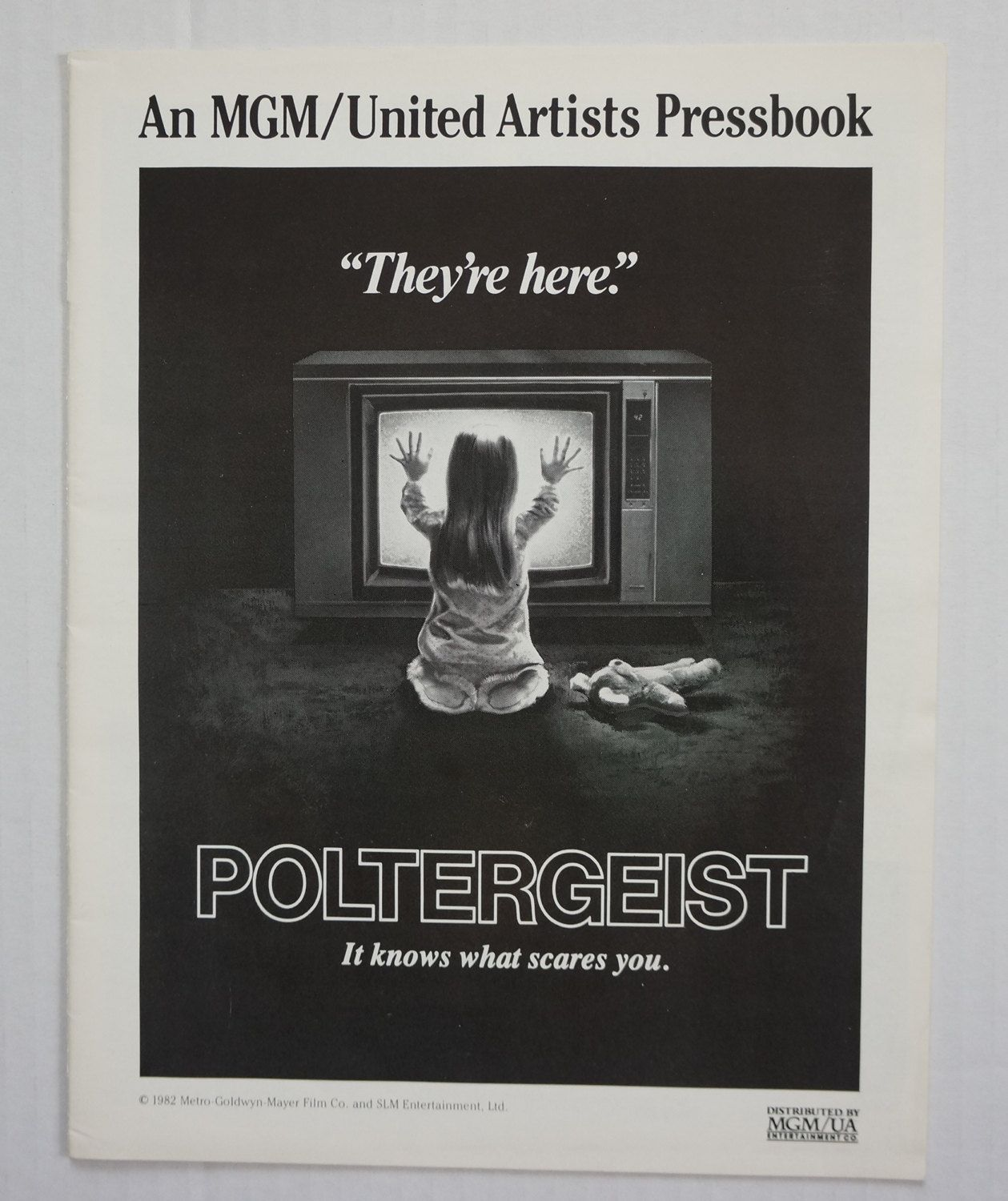 "Press book (19 page) and Print Advertising information   ""Poltergeist""  1982 film by MoviePostersAndMore on Etsy"