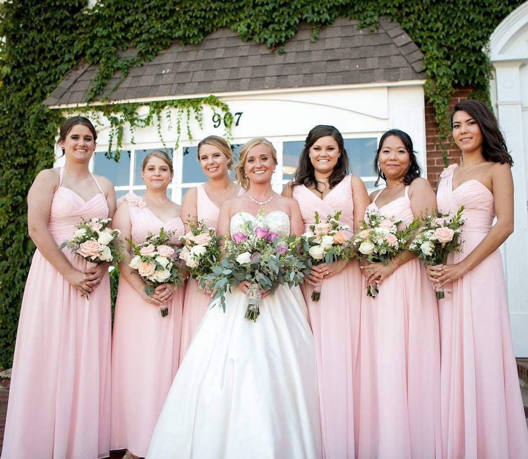 Kristine and her maids look lovely in these mix and match wtoo shop the best bridesmaid dresses online from jenny yoo watters sorella vita and many more ombrellifo Gallery