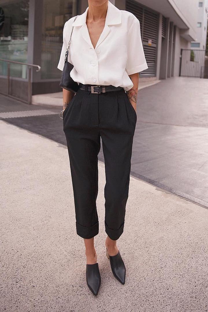 Simple Everyday Spring Shirts #springstyle #shirt #minimalisam - World Fashion Week 3