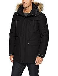 bad06bbbb512 Alpine North Men s Down Parka Coat Fabric  82% Polyester