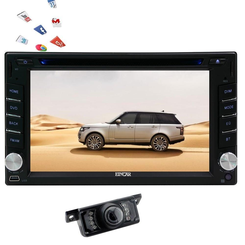 Reverse Camera Android 6 0 Head Unit 2din Car Stereo Dvd Player