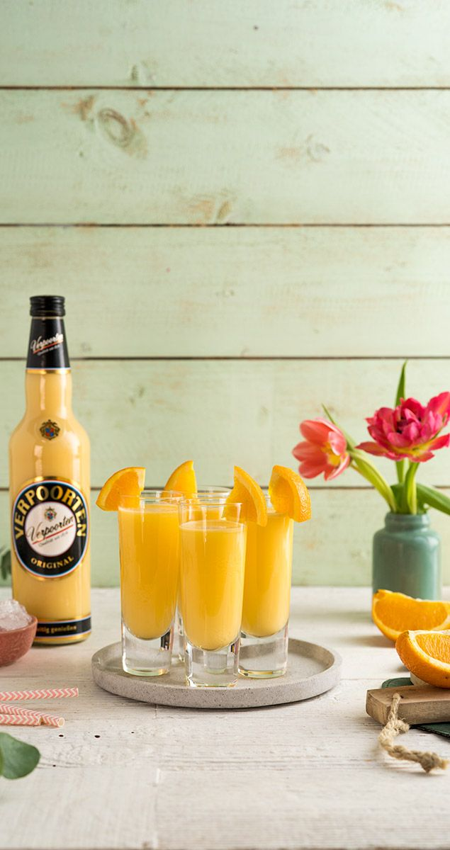 Eierlikör Blonder Engel - Drinks, Cocktails und Longdrinks mit Eierlikör