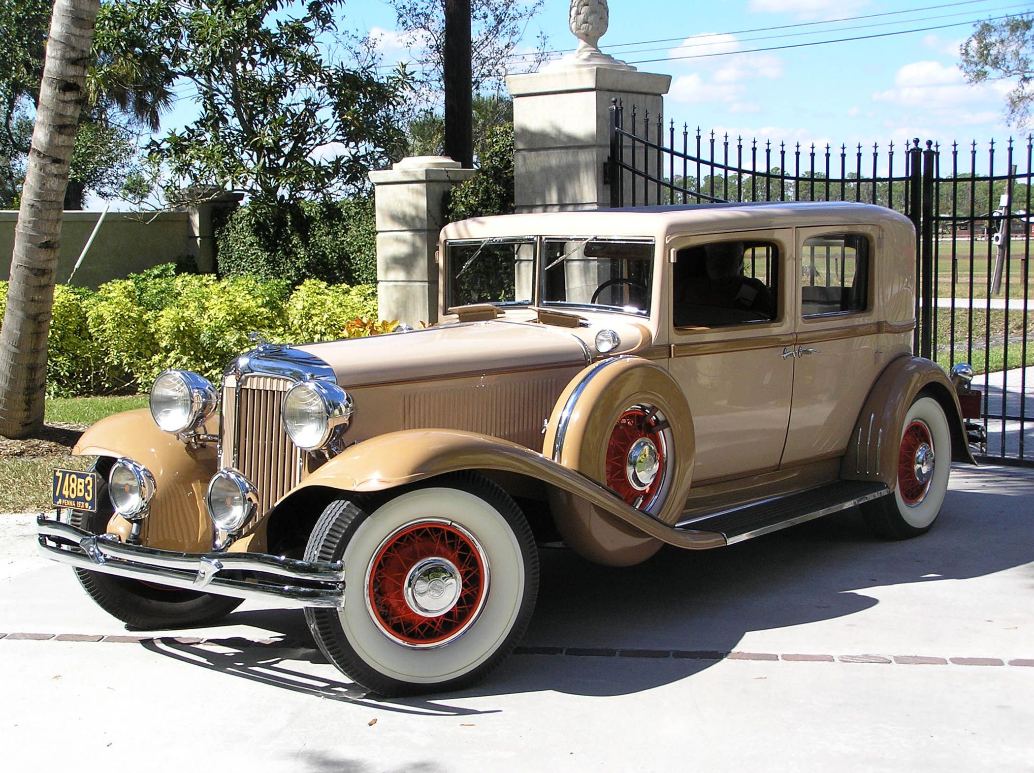 1931 Chrysler Imperial Close Coupled Sedan Maintenance restoration
