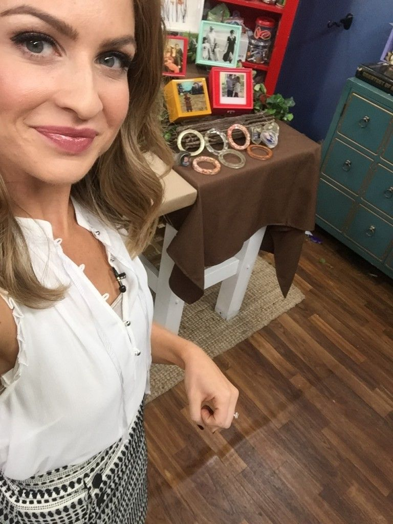 Epoxy Crafts on The Hallmark Channel's Home and Family