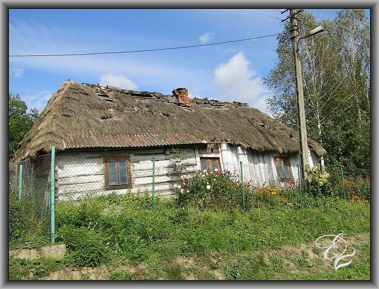 Pin On Stare Polskie Chaty Old Polish Cottages