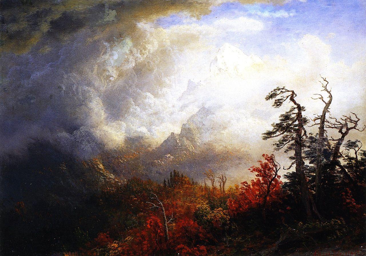 Autumn Landscape Albert Bierstadt Paintings Landscape Paintings Art Paintings For Sale