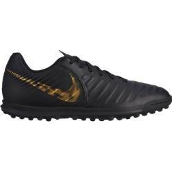 Photo of Nike Herren Fußballschuhe Hartplatz Tiempo Legendx 7 Club (tf), Größe 42 In Black/mtlc Vivid Gold, G