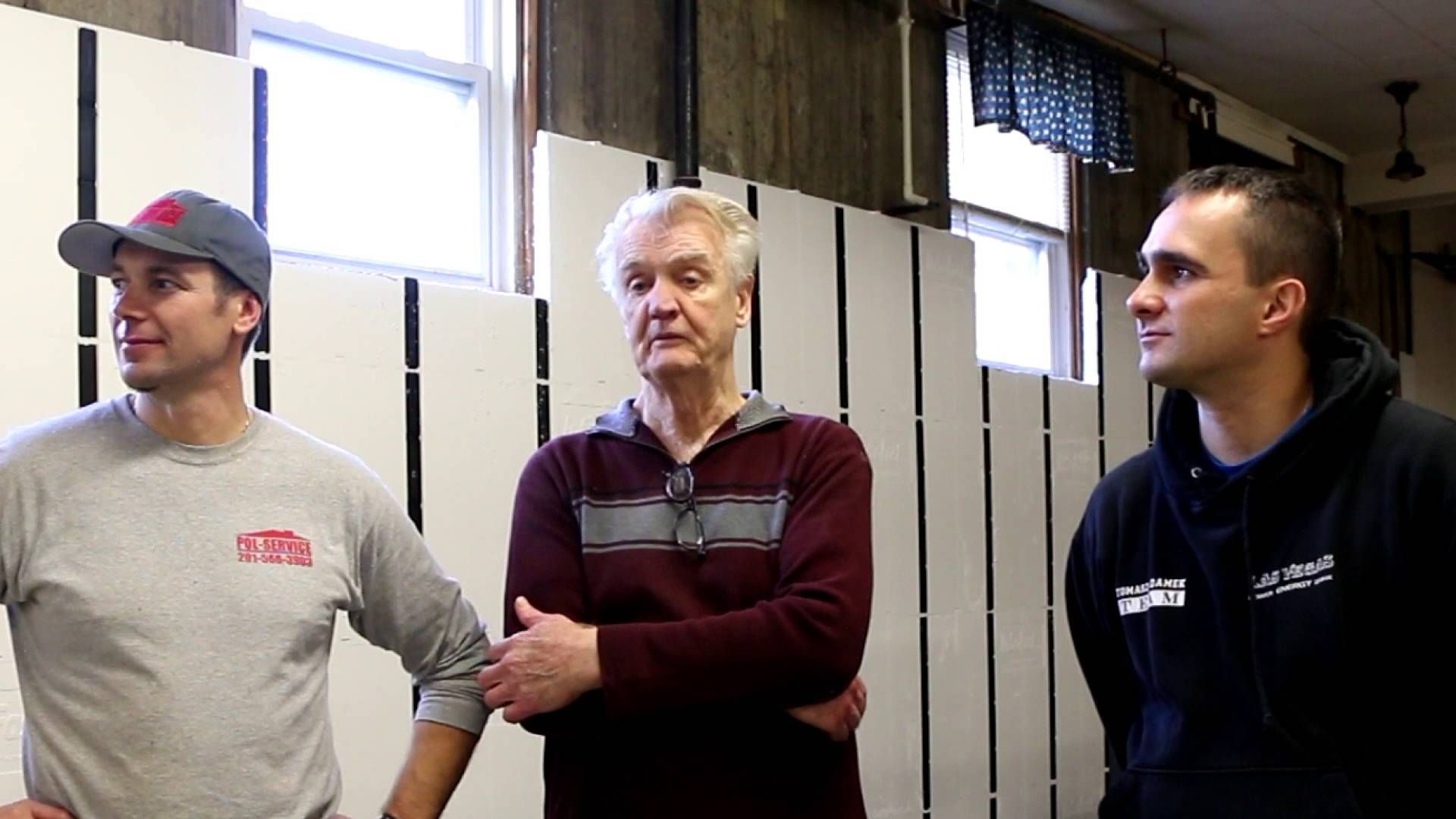 Folks involved in an InSoFast install in the basement of St Michaels Church in New Jersey talk about their experience working with the panels.