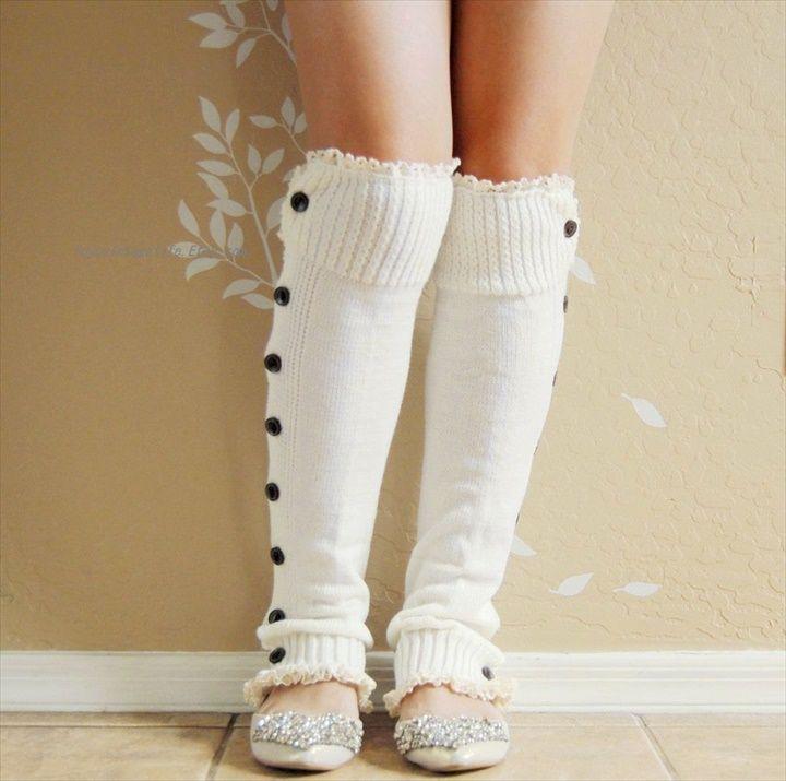 20 DIY Crochet Leg Warmer Ideas For Girls | Tejidos de punto, Tejido ...