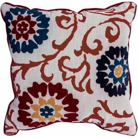Better Homes And Gardens Floral Medallion Decorative Pillow Best Better Homes And Gardens Decorative Pillows