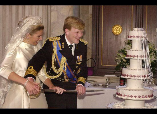 Dutch royal family wedding cakes
