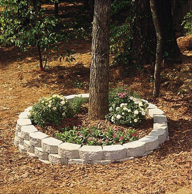 C mo construir una jardinera exterior circular de ladrillo - Jardineras de exterior ...