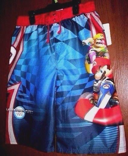 945577ba3d MARIO Kart Wii Swimtrunks Board Shorts Boy's size 14/16 NeW Swim Trunks  UV50 $19.99 #MarioKartWii #SwimShorts #MarioSwimTrunks #MarioKart # ...