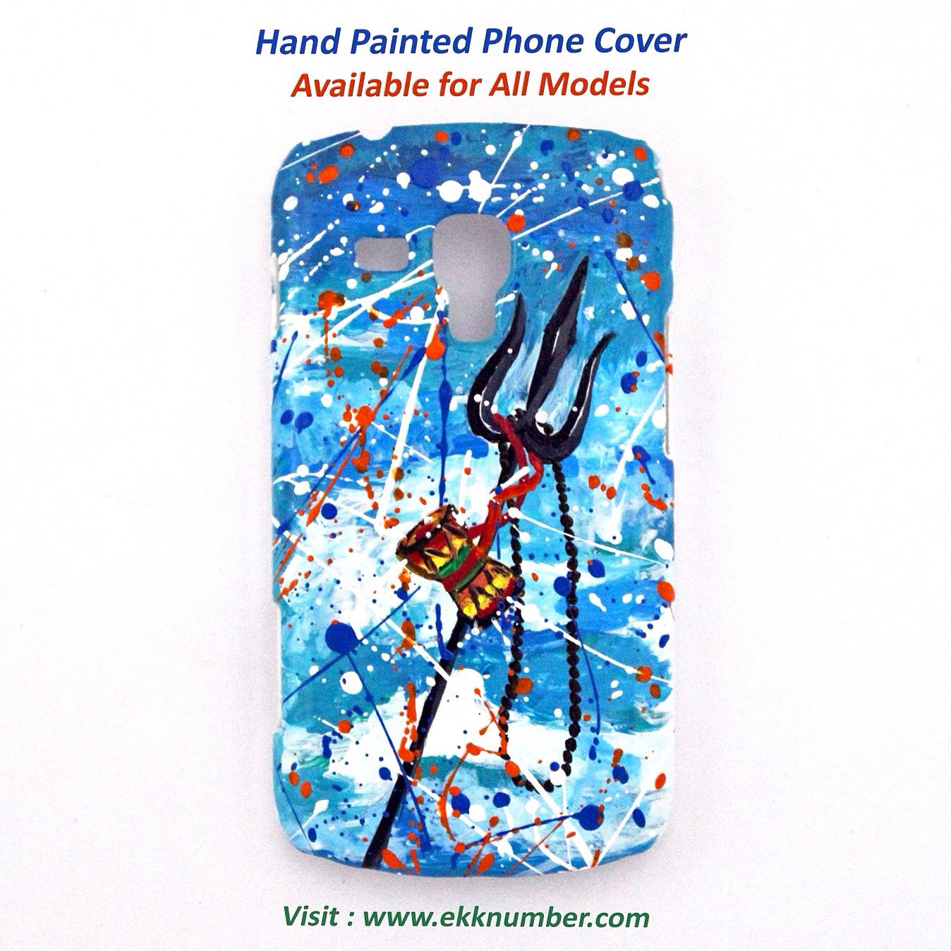 Hand Painted Shiva phone covers! iphone samsung mobile