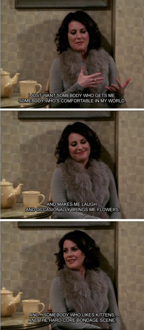 Karen Walker Will And Grace : theBERRY
